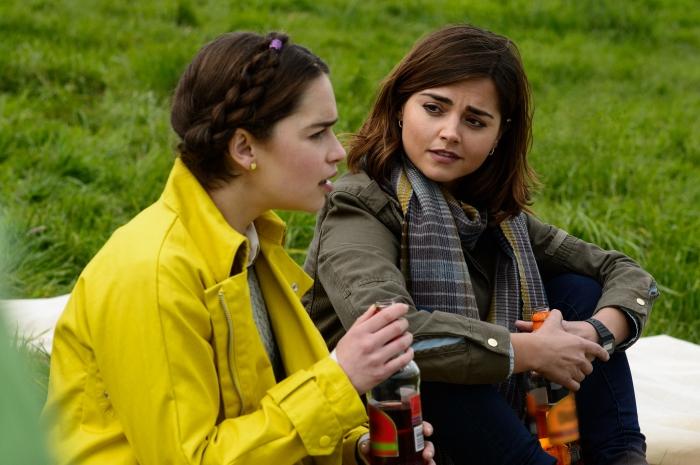Emilia Clarke & Jenna-Louise Coleman